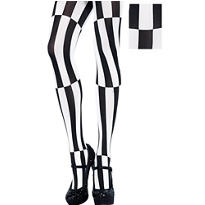 Adult Mesmerizing Striped Pantyhose
