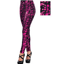 Girls Pink Monster High Leggings