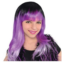 Child Monster High Purple Ombre Wig
