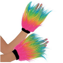 Electric Party Furry Hand Warmers