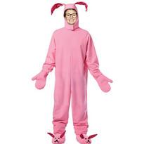 Boys Pink Bunny Costume - A Christmas Story