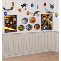 How to Train Your Dragon Room Decorating Kit 22pc