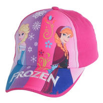 Child Pink Frozen Baseball Hat