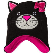 Child Black Cat Peruvian Hat