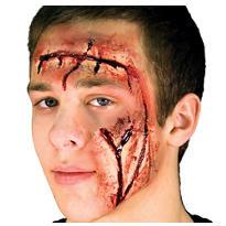 Face Cuts Prosthetics