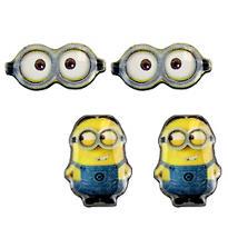 Minions Earrings Set - Despicable Me