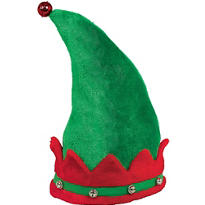 Deluxe Plush Elf Hat