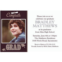 Graduating Class Custom Photo Invitation