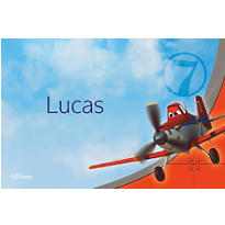 Planes Custom Thank You Note