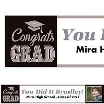 Graduating Class Custom Photo Banner
