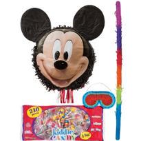 Pull String Smiling Mickey Mouse Pinata Kit