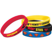 Superman Wristbands 4ct