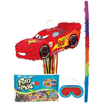 Pull String Lightning McQueen Pinata Kit
