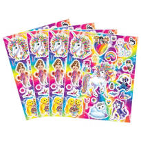 Lisa Frank Rainbow Horse Stickers 4 Sheets