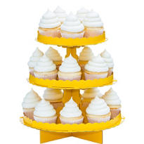 Sunshine Yellow Cupcake Stand