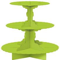 Kiwi Green Cupcake Stand