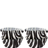 Mini Zebra Print Baking Cups 100ct