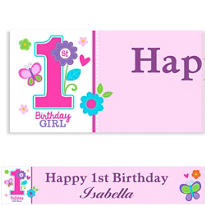 Sweet Birthday Girl Custom Banner