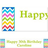 Bright Chevron Custom Banner