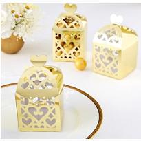 Gold Lantern Favor Boxes