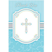 Boy's Communion Thank You Notes 8ct