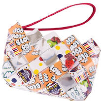 Blow Pop Candy Wrapper Wristlet