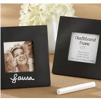 Chalkboard Photo Frame Place Card Holder