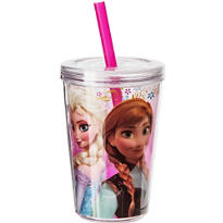Anna & Elsa Frozen Double Wall Tumbler