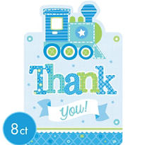 Boy Welcome Baby Thank You Notes 8ct - Welcome Little One