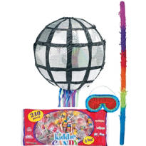 Pull String Disco Ball Pinata Kit