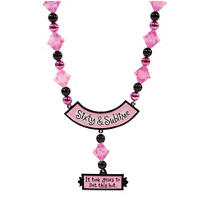 Sixty & Sublime Birthday Bead Necklace