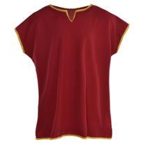 Child Burgundy Roman Tunic