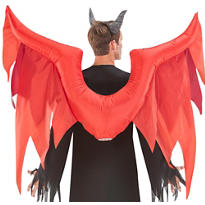 Inflatable Red Demon Wings