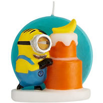 Minion Birthday Candle - Minions Movie