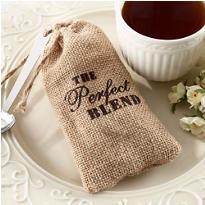 The Perfect Blend Burlap Favor Bags