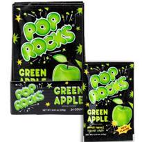 Green Apple Pop Rocks 24ct