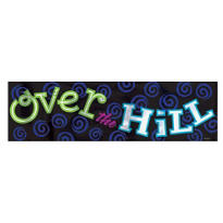 Giant Over the Hill Banner 65in