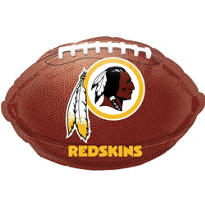 Washington Redskins Foil  Balloon 18in
