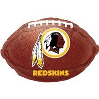 Washington Redskins Foil  Balloon 18in