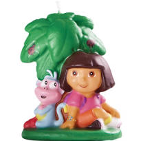 Dora The Explorer Birthday Candle 2in