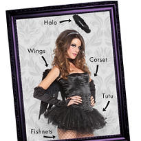 Dark Angel Mix & Match Women's Looks