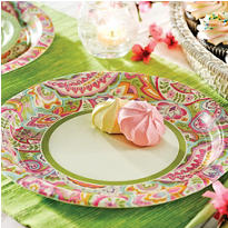 Pretty Paisley Party Supplies