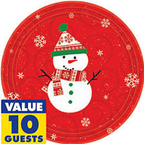 Very Merry Snowman Christmas Party Supplies