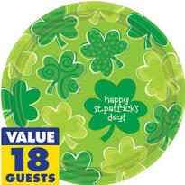 Playful Shamrocks St. Patricks Day Party Supplies