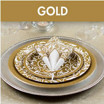 Gold Bridal Shower Supplies