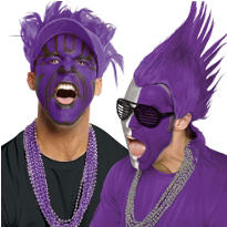 Purple Fan Gear and Accessories