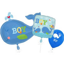 Ahoy It's a Boy Balloons