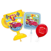 Cars 1st Birthday Balloons