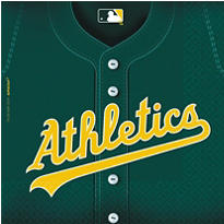 MLB Oakland Athletics Party Supplies