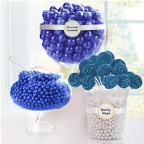 Royal Blue Candy Buffet